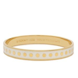 Kate Spade Gold Bangle A Penny for Your Thoughts